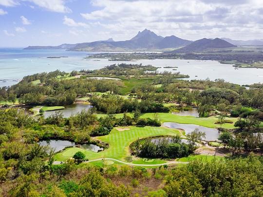 Superbe parcours de golf