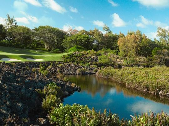 Accès au golf de l'Ile aux Cerfs