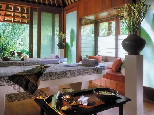 Le spa de l'hôtel 5 étoiles Four Seasons Sayan