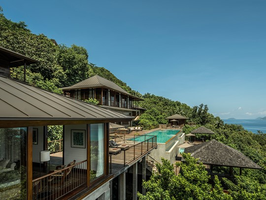 Four Bedroom Residence du Four Seasons Resort Seychelles
