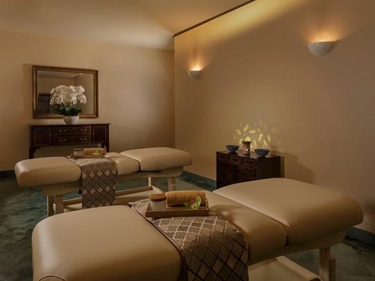 Le spa de l'hôtel 5 étoiles Four Seasons Singapore