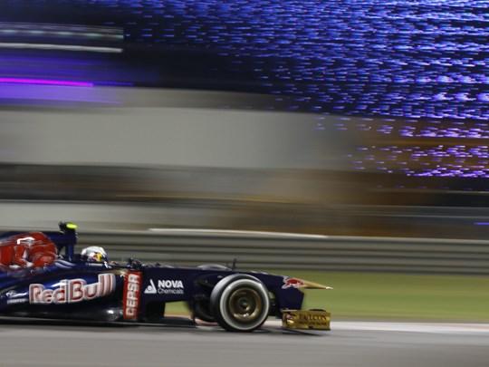 Aujourd'hui vous assisterez pour la première fois aux essais du Grand Prix d'Abu Dhabi