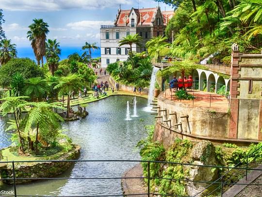 Le jardin tropical et sa scénographie qui vous surprendra sans aucun doute