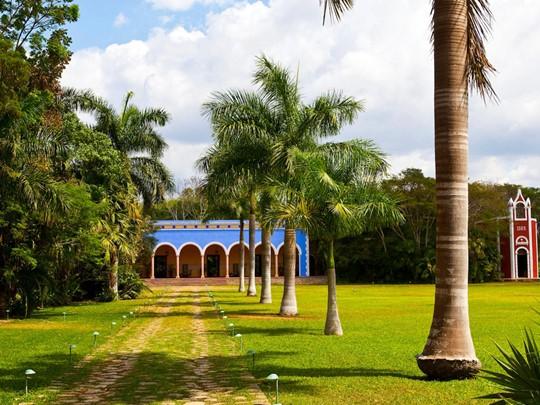 Le Santa Rosa est une hacienda traditionnelle aux airs de maison de campagne