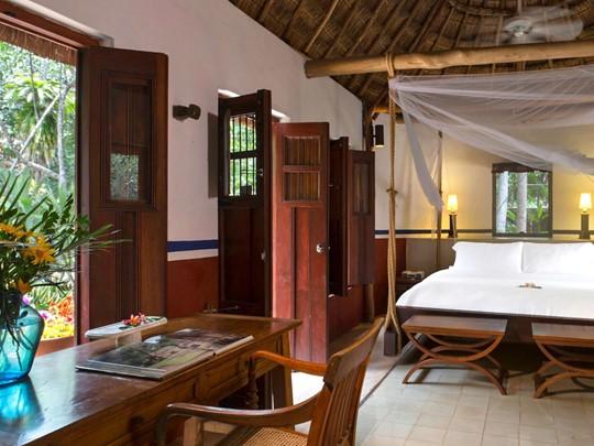 Mayan Villa de l'Hacienda Santa Rosa à Yucatan