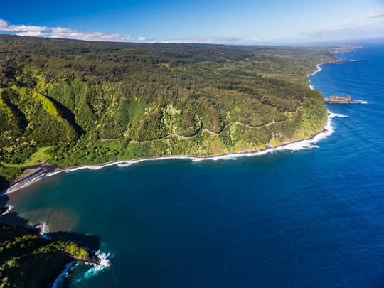 La mythique Road to Hana sur l'île de Maui