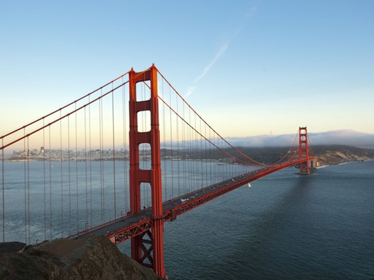 Admirez le mythique Golden Gate Bridge de San Francisco