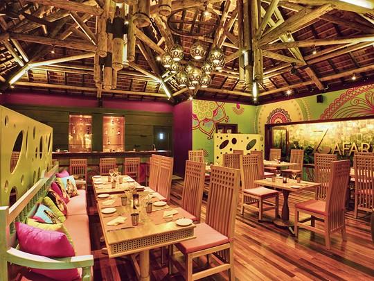 Le restaurant Zafarani