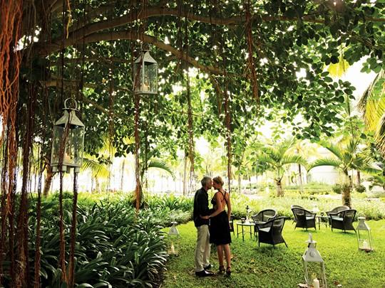 Passez des moments romantiques dans les jardins