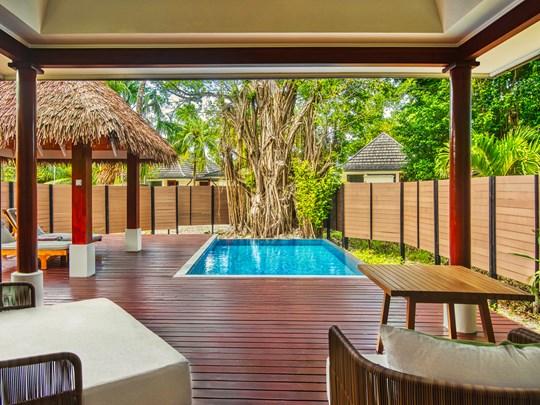 King Garden Family Connecting Pool Villa