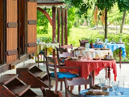 Le restaurant Grann Kaz