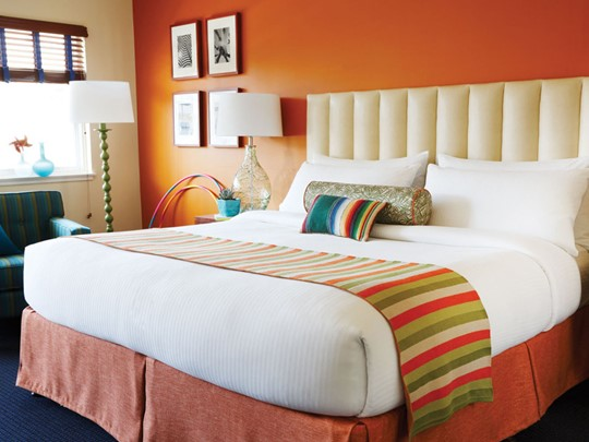 Deluxe Room de l'hôtel Del Sol à San Francisco