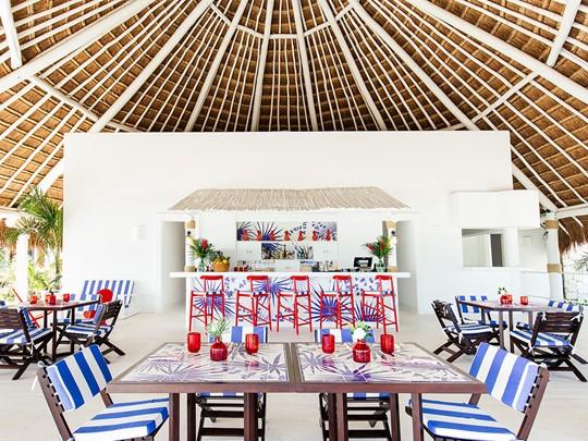 Cuisine tropicale péruvienne de l'hôtel Esencia