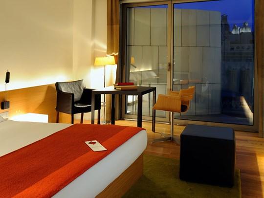 Chambre Standard de l'hôtel OMM en Barcelone
