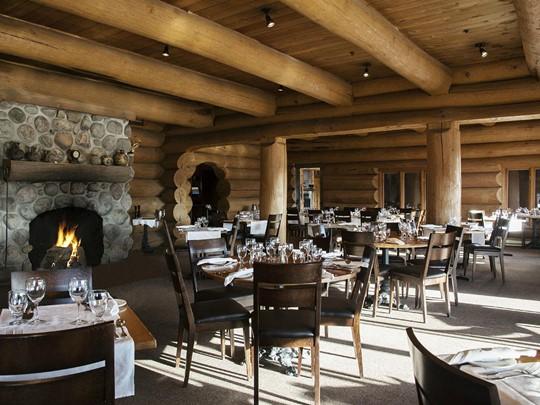 Le restaurant de l'hôtel Sacacomie