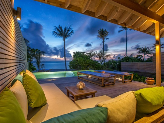 Beach Sunset Pool Villa