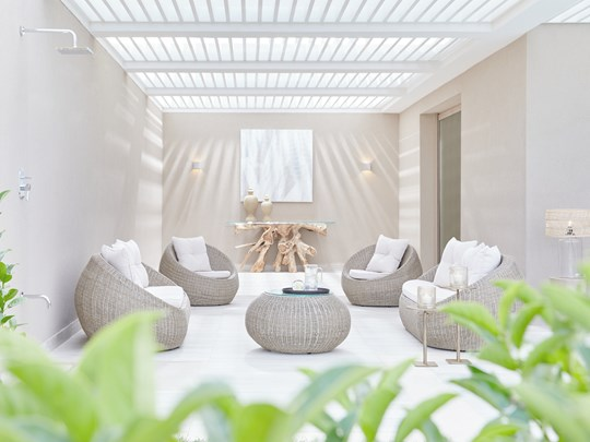 Deluxe Junior Suite Private Garden