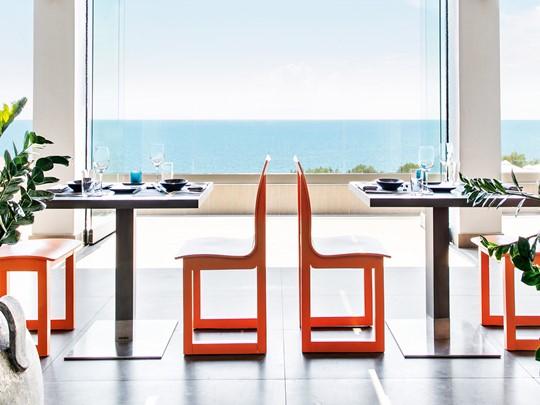 Le restaurant asiatique Anaya de l'Ikos Oceania en Grèce