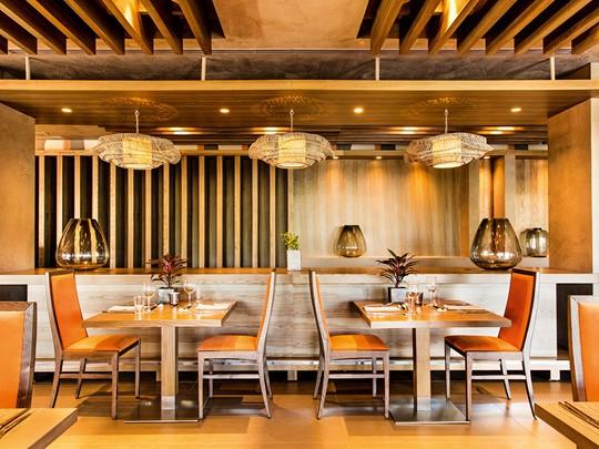 Le restaurant asiatique Anaya de l'Ikos Olivia en Grèce