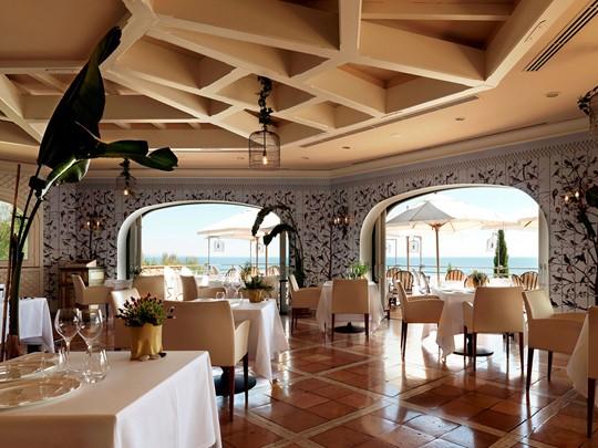 Restaurant Il Pellicano de l'Il Pelicano en Italie