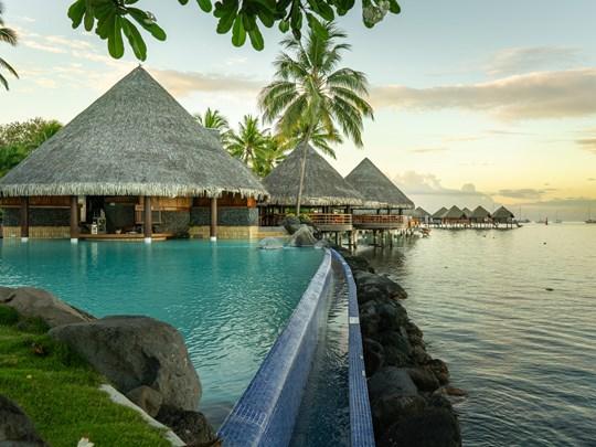 L'Intercontinental Tahiti, est un joyaux dépaysant