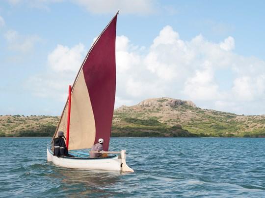 Pêcheurs sur l'île de Rodrigues