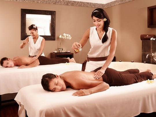 Soins relaxants au spa