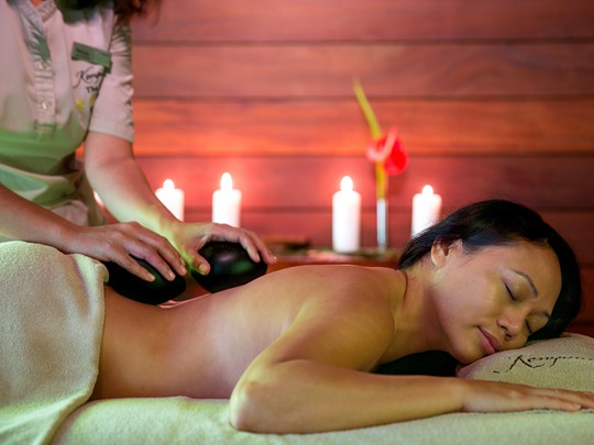 Profitez des somptueux soins du spa du Kempinski