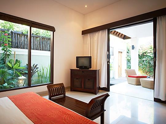 La chambre confortable de la 1 Bedroom Pool Villa