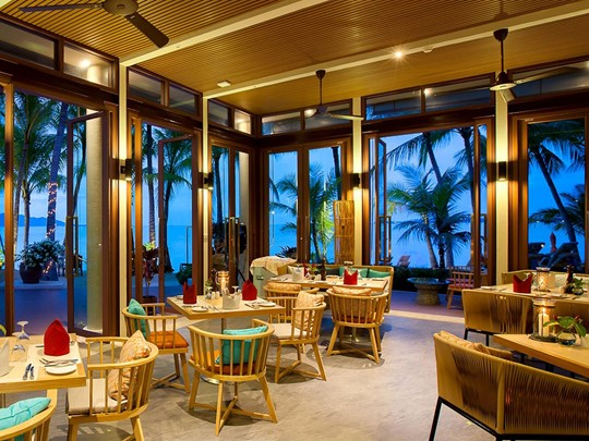 Rim Talay Restaurant de l'hôtel Santiburi