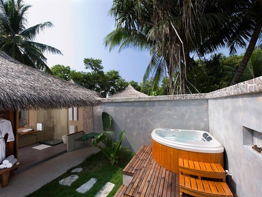 Beach Villa with Jacuzzi®