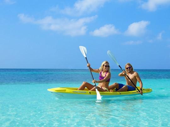 Activité nautique de l'hôtel Kuredu Island Resort