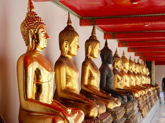Palais d'or à Bangkok