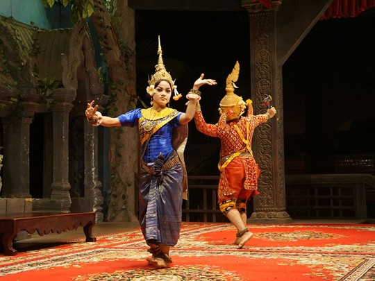 Spectacle de danse Apsara à Siem Reap