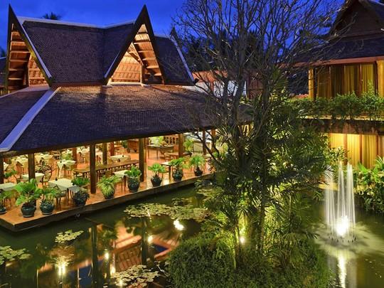 Vue de l'Angkor Village Hotel au Cambodge