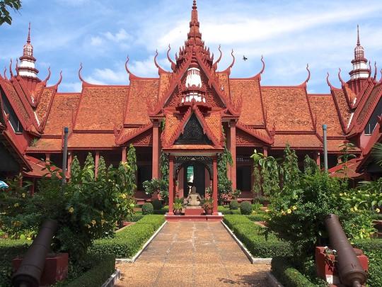 Vue du Musée National de Phnom Penh