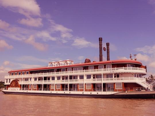 Le superbe bateau Anawrahta qui vous mènera de Mandalay à Bagan
