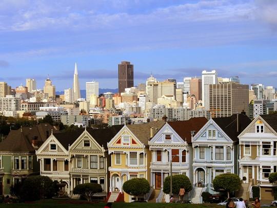 Les maisons victoriennes de San Francisco
