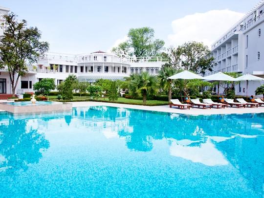 La belle piscine de La Résidence