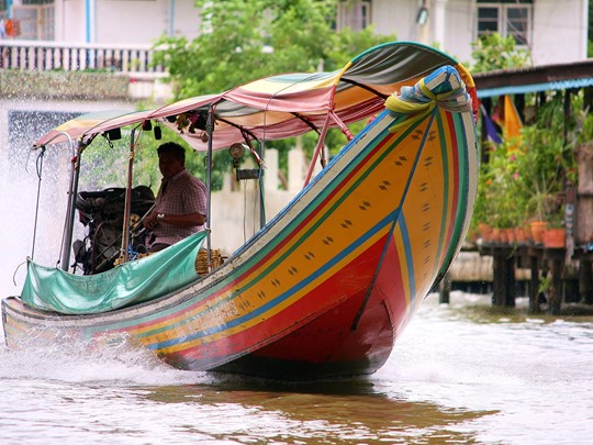 Balade exotique sur les klongs à Bangkok