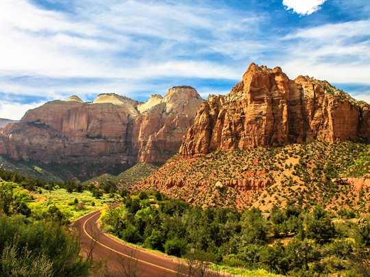 Le parc national de Zion