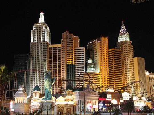 Las Vegas et sa statue de la Liberté