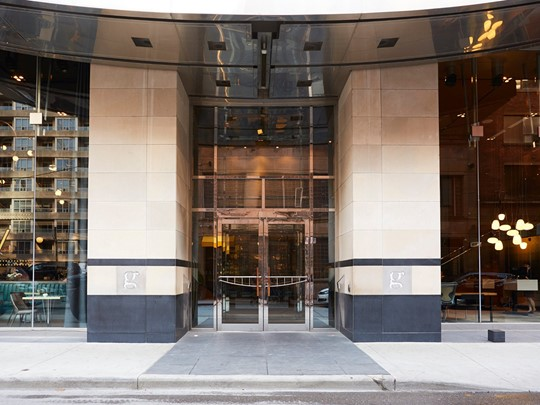 L'entrée du Germain Toronto Mercer