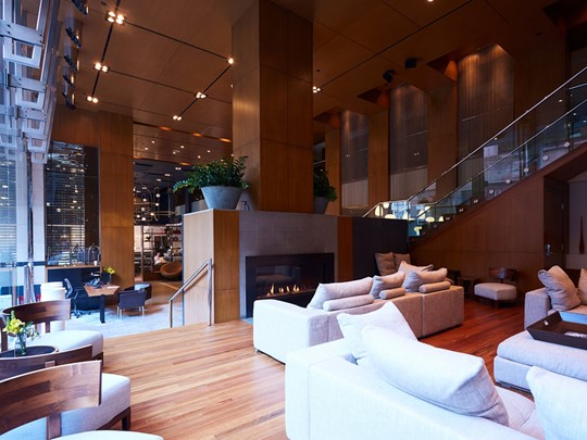 Le lobby du Germain Toronto Mercer