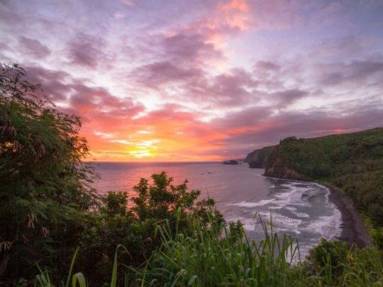 Admirez les falaises vertigineuses des côtes hawaïennes