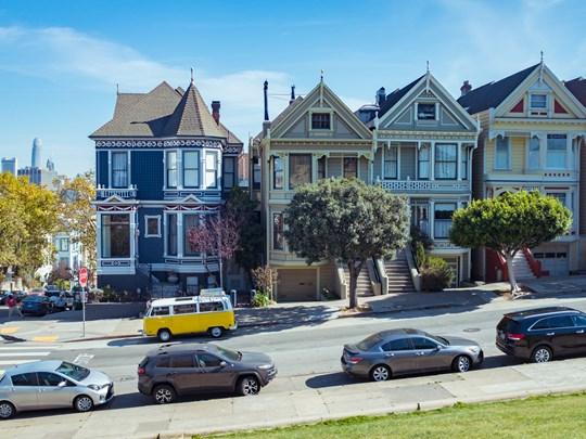San Francisco et ses maisons victoriennes