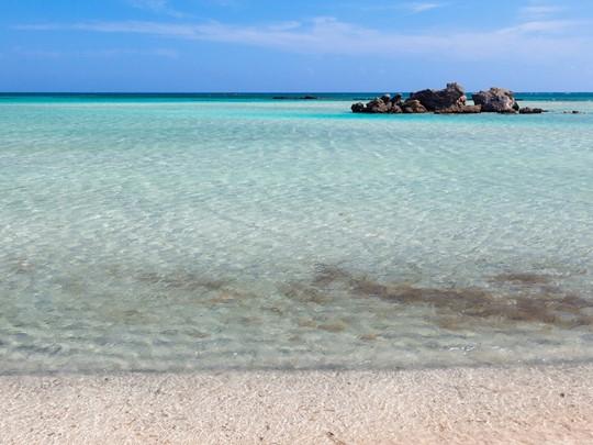 Les eaux limpides d'Elafonissi