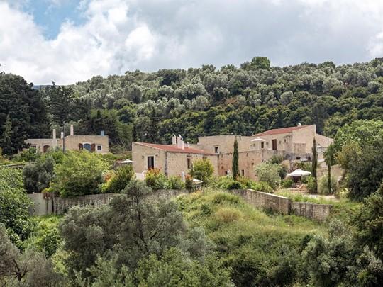 Le Kapsaliana Village Hotel en Crète