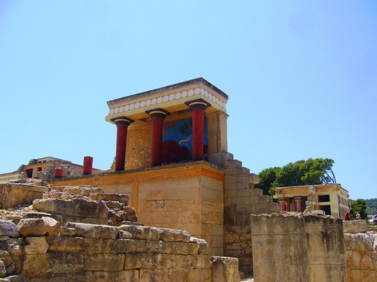 Le site archéologique de Knossos