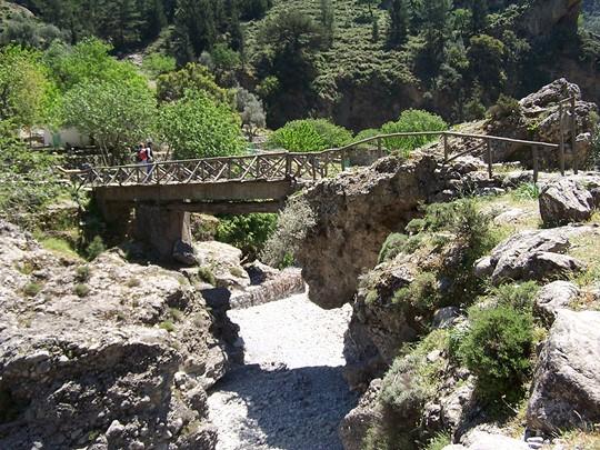 Les gorges de Samarias